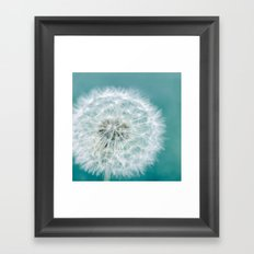 Puff Framed Art Print