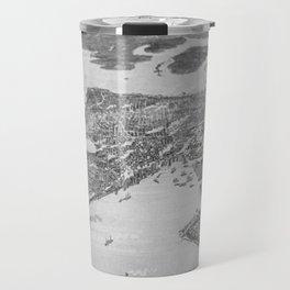Vintage Pictorial Map of Seattle (1908) Travel Mug