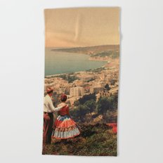 Is This The City We Dreamt Of Beach Towel