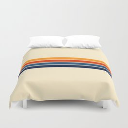 Classic Retro Stripes Duvet Cover