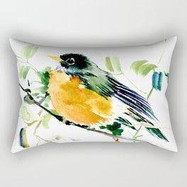 American Robin Rectangular Pillow
