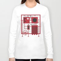 rocky horror Long Sleeve T-shirts featuring Rocky Horror Control Panel by Shawn Hall Design