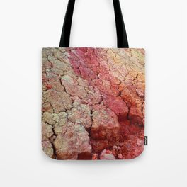 Red Clay Cliffs Tote Bag