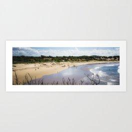 1 Mile Beach, NSW, Australia Art Print