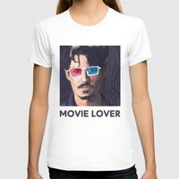 johnny depp T-shirts featuring Johnny Depp by Pazu Cheng