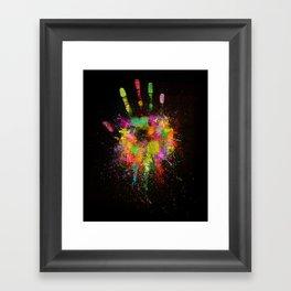 Artist Hand (1) Framed Art Print