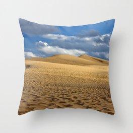 Dune du Pilat Throw Pillow