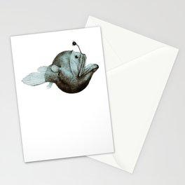Anglerfish Diceratias bispinosus Stationery Cards