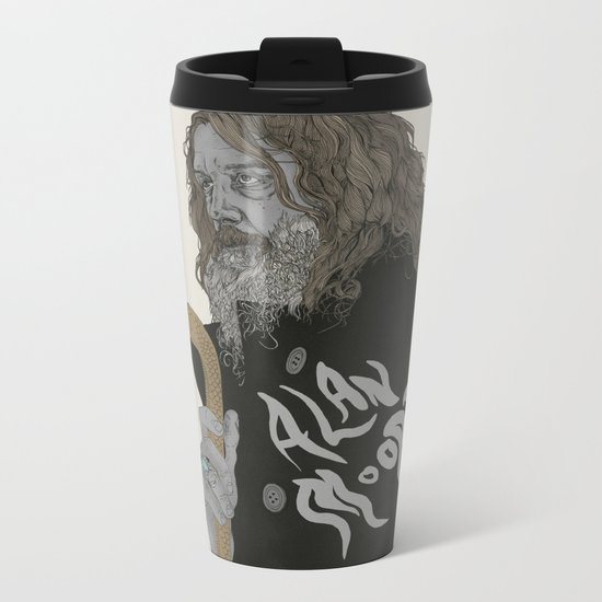 Alan Moore Metal Travel Mug