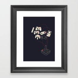 Videogame Framed Art Print
