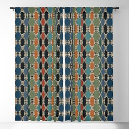 Moroccan Braided Abstract Blackout Curtain