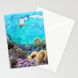 Shiver - Sharks in the Reef Stationery Cards
