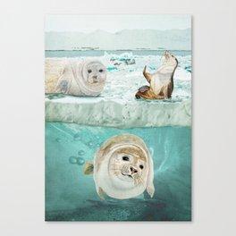 Arctic Expedition Canvas Print