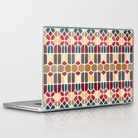 budapest Laptop & iPad Skins featuring Budapest Voronoi by Enrique Valles