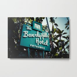 Beverly Hills Hotel, No. 2 Metal Print