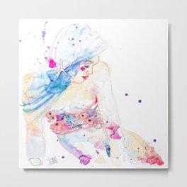 Jewel Fish Metal Print