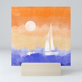 Sunny Seas Mini Art Print