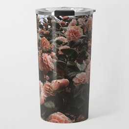 Blooming fields Botanical Flower Photography Travel Mug