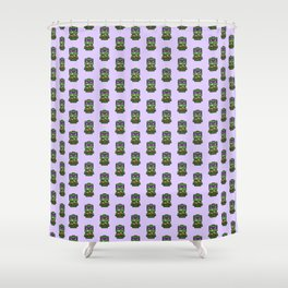 Chibi Donatello Ninja Turtle Shower Curtain
