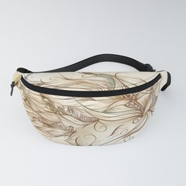 Poetic Lion Fanny Pack