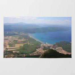 Akyaka and The Bay Of Gokova Photograph Rug