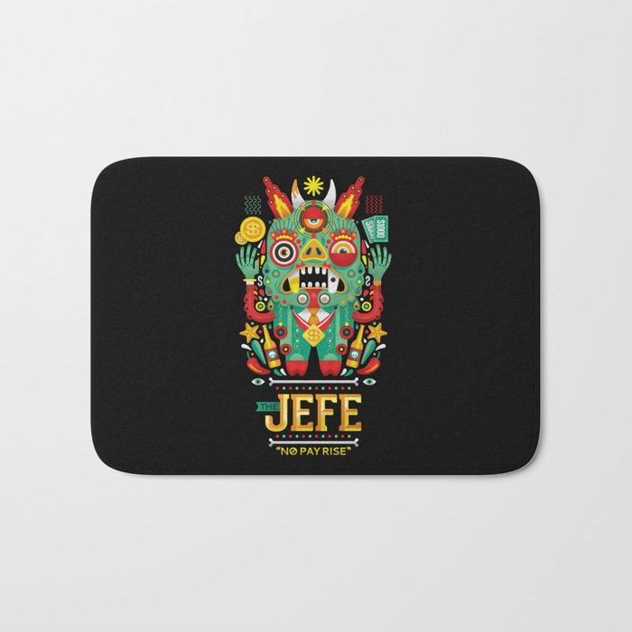 """The Jefe"" Bath Mat"