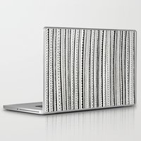 lace Laptop & iPad Skins featuring Lace by Anita Ivancenko