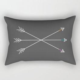 Killers (Gray) Rectangular Pillow
