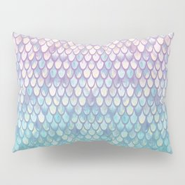 Spring Mermaid Scales Pillow Sham