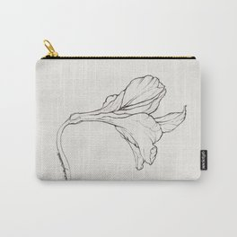 Lily in Ink Carry-All Pouch