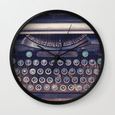 qwerty Wall Clock
