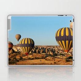in a hot-air balloon over Cappadocia Laptop & iPad Skin