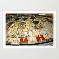 millenium falcon Art Prints featuring Millenium Falcon Body by Ewan Arnolda