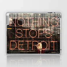 Nothing Stops Detroit Laptop & iPad Skin