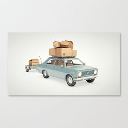 The Russian Canvas Print