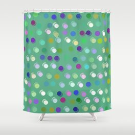 Giggle dots pattern Shower Curtain