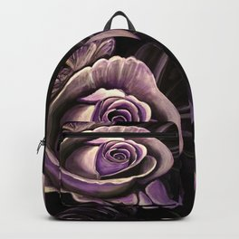 Purple Rose Backpack