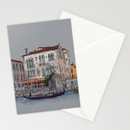 Evening in Italy Stationery Cards