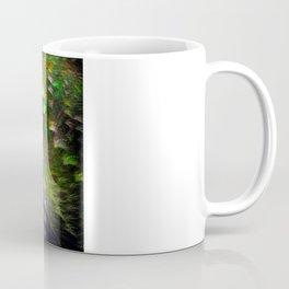 Black Peacocks Coffee Mug