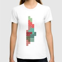periodic table T-shirts featuring Periodic Manhattan by VIGILISM