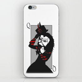 Courting the Crimson Queen iPhone Skin