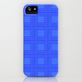 Elour Blue Tile iPhone Case