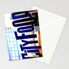 City Food Stationery Cards
