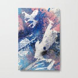 Imperium I | spray paint graffiti erotic painting Metal Print