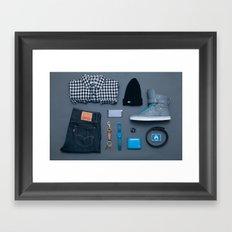 The Essentials Framed Art Print