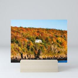 Fall in Nova Scotia. Canada. Mini Art Print