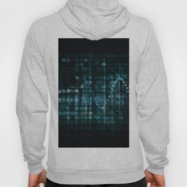 Technology Portal with Digital Circle Access System Hoody