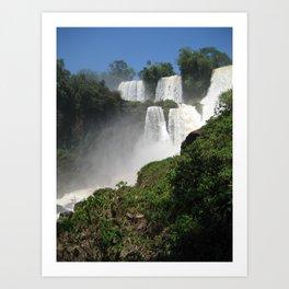 Waterfalls (Iguazu Falls) Art Print