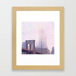 Moody Brooklyn Framed Art Print