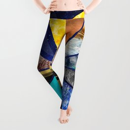 Part of the universe - Solar sistem Leggings